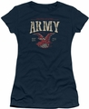 Army juniors sheer t-shirt Arch navy