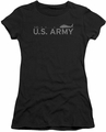 Army juniors sheer t-shirt Helicopter black