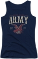 Army juniors tank top Arch navy
