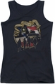 Army juniors tank top Duty Honor Country black