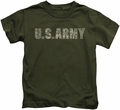 Army kids t-shirt Camo military green