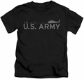 Army kids t-shirt Helicopter black