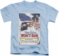 Army kids t-shirt Pearl Harbor light blue