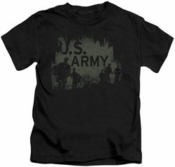 Army kids t-shirt Soilders black