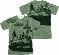 Army mens full sublimation t-shirt Tank Up