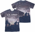Army mens full sublimation t-shirt Up Hill