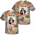 Army mens full sublimation t-shirt Vintage Collage