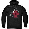 Army Of Darkness pull-over hoodie Sugar adult Black