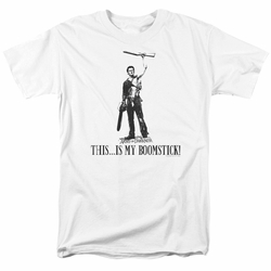 Army Of Darkness t-shirt Boomstick! mens white