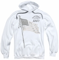 Army pull-over hoodie Tristar adult white