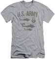 Army slim-fit t-shirt Airborne mens heather