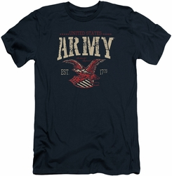 Army slim-fit t-shirt Arch mens navy