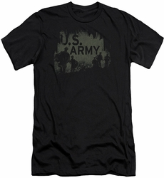 Army slim-fit t-shirt Soilders mens black