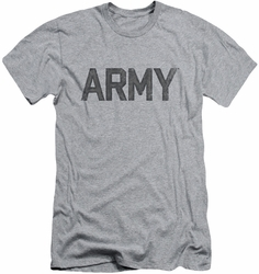 Army slim-fit t-shirt Star mens athletic heather