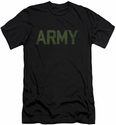 Army slim-fit t-shirt Type mens black