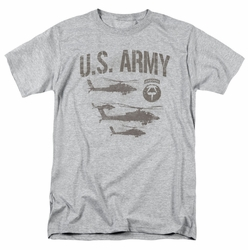 Army t-shirt Airborne mens heather
