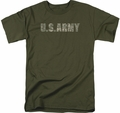 Army t-shirt Camo mens military green