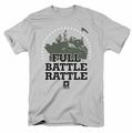 Army t-shirt Full Battle Rattle mens silver