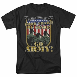 Army t-shirt Go Army mens black