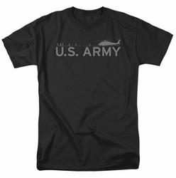 Army t-shirt Helicopter mens black