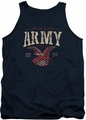 Army tank top Arch adult navy