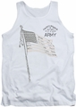 Army tank top Tristar adult white