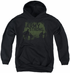 Army youth teen hoodie Soilders black