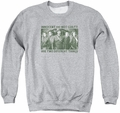 Arrow TV Show on CW adult crewneck sweatshirt Not Guilty athletic heather