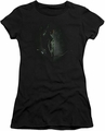 Arrow TV Show on CW juniors t-shirt In The Shadows black