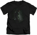 Arrow TV Show on CW kids t-shirt In The Shadows black