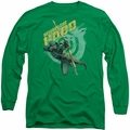 Arrow TV Show on CW long-sleeved shirt Beware kelly green