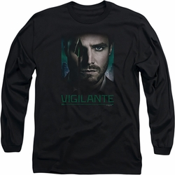 Arrow TV Show on CW long-sleeved shirt Good Eye black