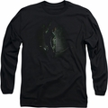 Arrow TV Show on CW long-sleeved shirt In The Shadows black