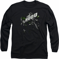 Arrow TV Show on CW long-sleeved shirt Take Aim black