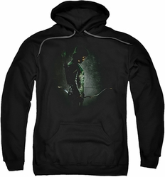 Arrow TV Show on CW pull-over hoodie In The Shadows adult black