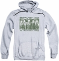 Arrow TV Show on CW pull-over hoodie Not Guilty adult athletic heather