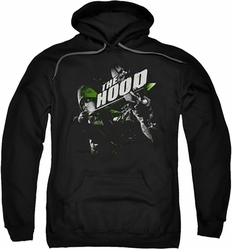 Arrow TV Show on CW pull-over hoodie Take Aim adult black