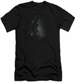 Arrow TV Show on CW slim-fit t-shirt In The Shadows mens black