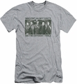 Arrow TV Show on CW slim-fit t-shirt Not Guilty mens athletic heather