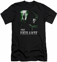 Arrow TV Show on CW slim-fit t-shirt Star City Defender mens black