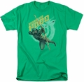 Arrow TV Show on CW t-shirt Beware mens kelly green