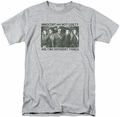 Arrow TV Show on CW t-shirt Not Guilty mens athletic heather