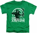 Arrow TV Show on CW toddler t-shirt Archer kelly green