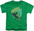 Arrow TV Show on CW toddler t-shirt Beware kelly green