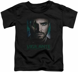 Arrow TV Show on CW toddler t-shirt Good Eye black