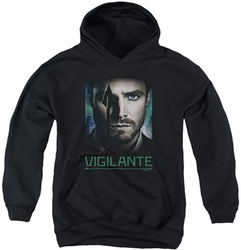 Arrow TV Show on CW youth teen hoodie Good Eye black