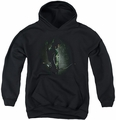 Arrow TV Show on CW youth teen hoodie In The Shadows black