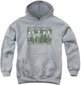 Arrow TV Show on CW youth teen hoodie Not Guilty athletic heather