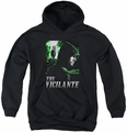 Arrow TV Show on CW youth teen hoodie Star City Defender black