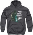 Arrow TV Show on CW youth teen hoodie You Have Failed charcoal